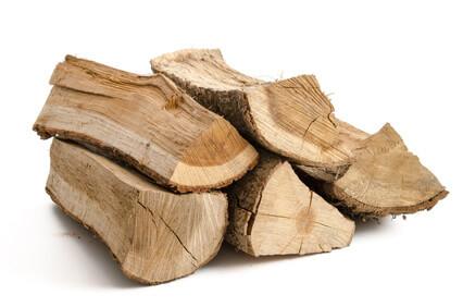 Bûches de bois de chauffage pour poêle-cheminée