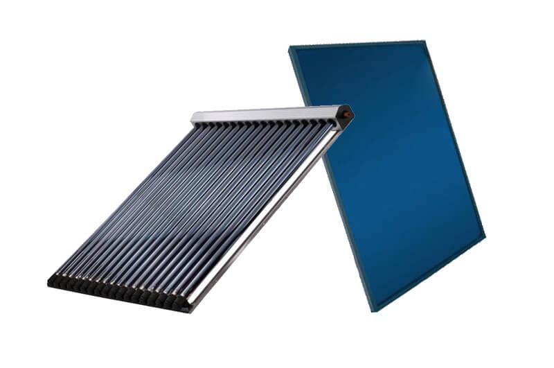 Thermie solaire, capteurs plans et capteurs à tubes sous vide