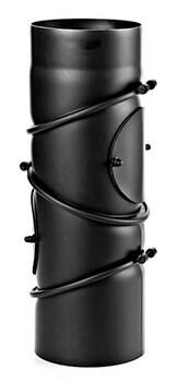 flexibler 180 mm Rauchrohrbogen