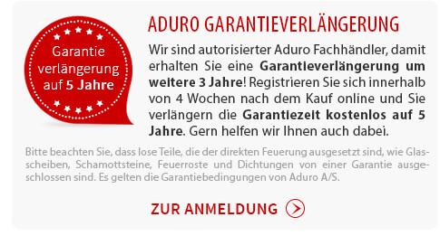 Aduro Garantieverlängerung auf 5 Jahre!