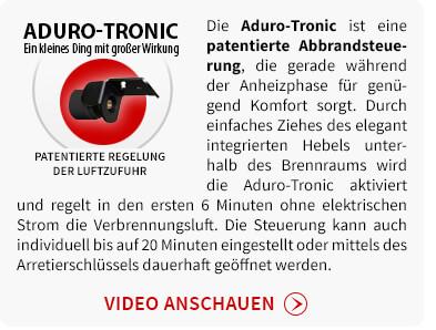 Aduro-Tronic - Patentierte automatische Regelung der Luftzufuhr