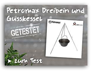 Petromax Dreibein getestet