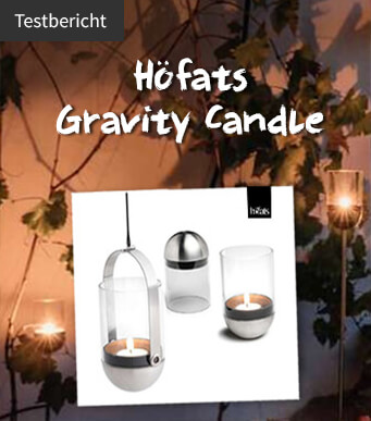 Höfats Gravity Candle Test