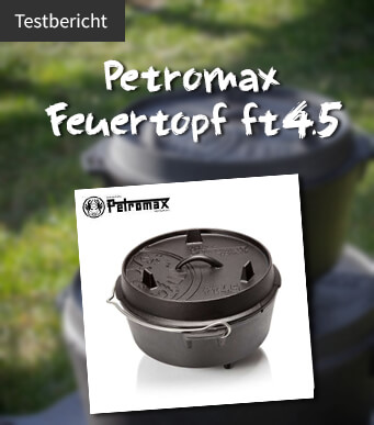 Petromax FT4.5 Test