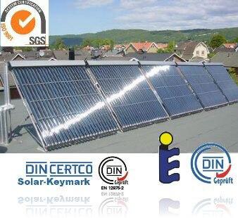 Solarkollektor Zertifikate