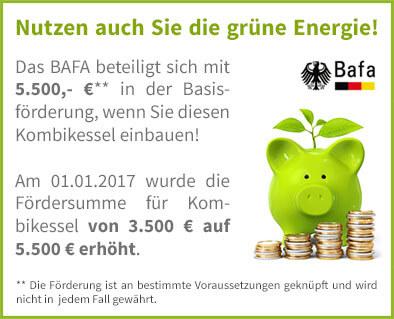 BAFA Förderung für Atmos Kombikessel GSP Serie