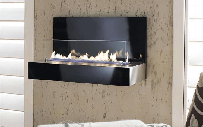 Die offenen Flammen des Design Feuers sorgen für eine behagliche Atmosphäre, die zum Kuscheln und Träumen einlädt.
