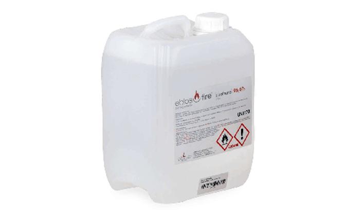 Zu Ihrer eigenen Sicherheit sollten Sie nur hochwertiges Bioethanol verwenden. Benutzen Sie keinesfalls Lampenöl oder ähnliche Brennstoffe.