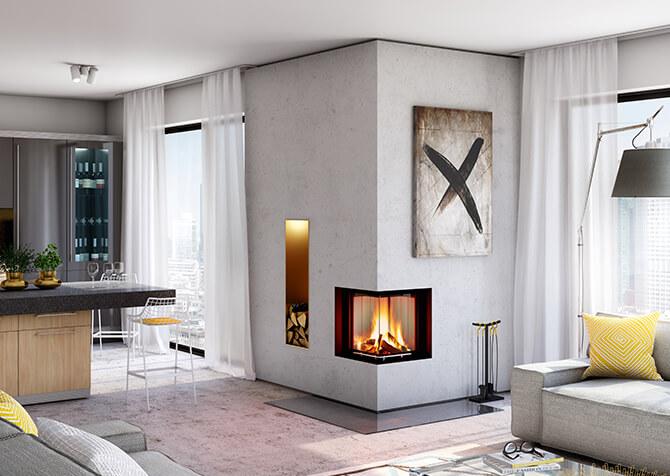 eck kamineins tze zum selbst verkleiden bei. Black Bedroom Furniture Sets. Home Design Ideas