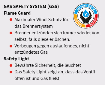 Outdoorchef Gas-Safety-System Logo