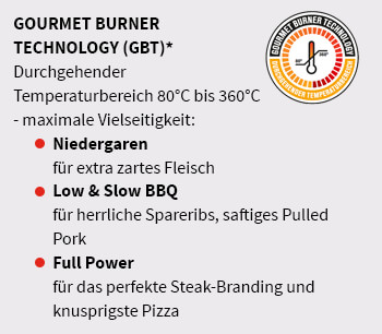 Outdoorchef Gourmet-Burner-Technology Logo