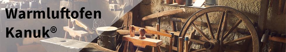 Der Warmluftofen Kanuk ist der perfekte Ofen für die Werkstatt