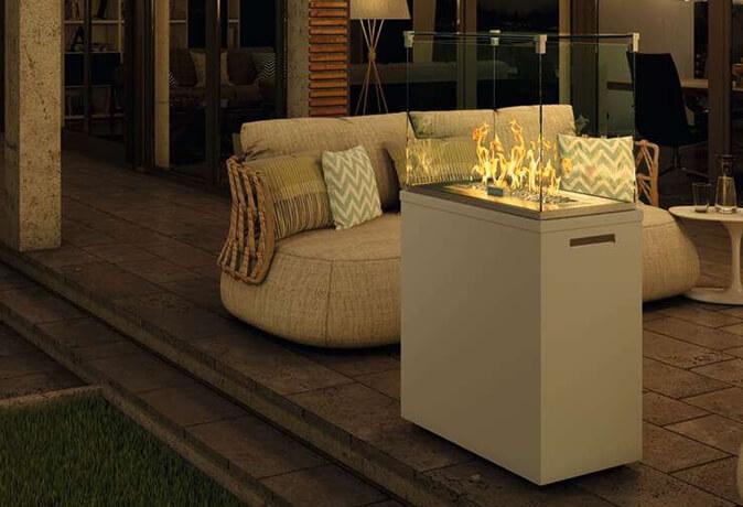 Moderne Terrassenheizer vereinen Design und Funktion
