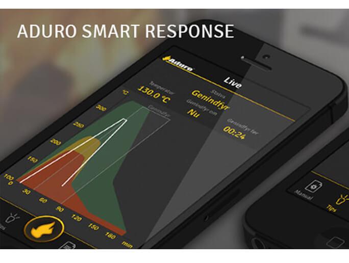 Aduro Kaminofen mit der Response App steuern