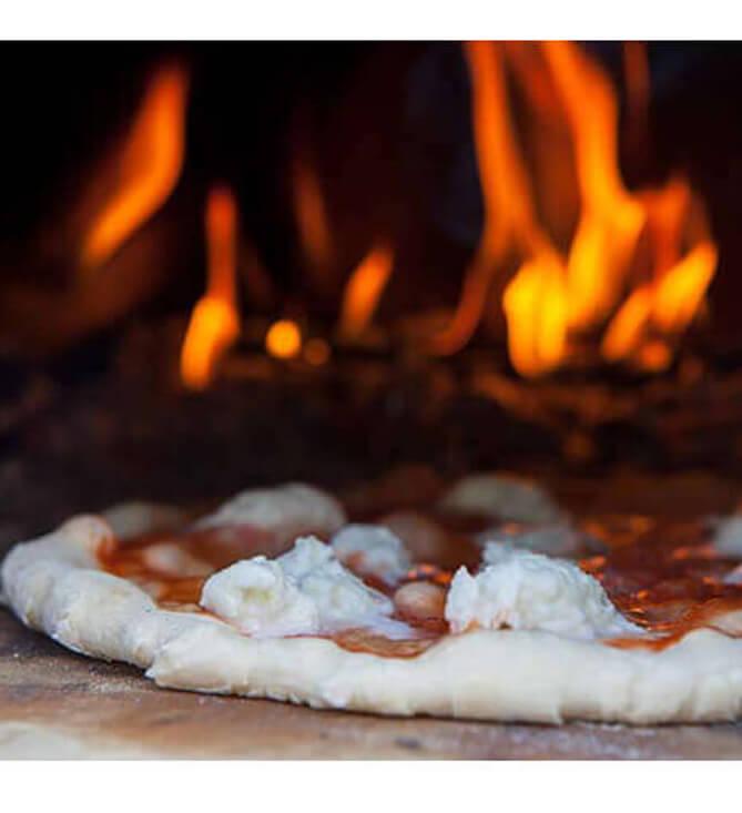 Steinbackofen für Pizza & Flammkuchen