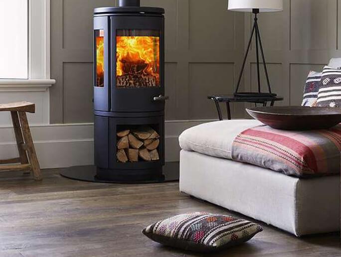 runde kamin fen finden bei. Black Bedroom Furniture Sets. Home Design Ideas