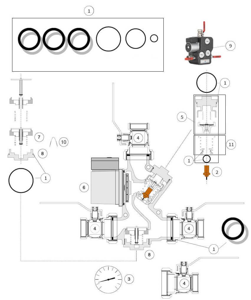 Ersatzteile für Laddomat 21-60