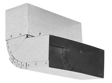 Lüftung-Flachkanal mit 200 x 90 mm
