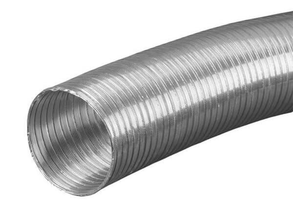 flexibles Lüftungsrohr mit 80 mm