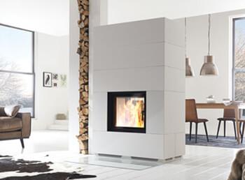 nutzen sie ihren kamin als raumtrenner. Black Bedroom Furniture Sets. Home Design Ideas