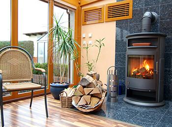 Kamin im Gartenhaus oder Wintergarten - Geht das?