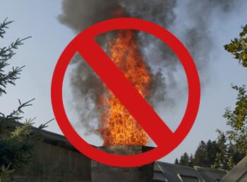 Schornsteinbrand, Rußbrand, Kaminbrand: Ursachen erkennen und bekämpfen