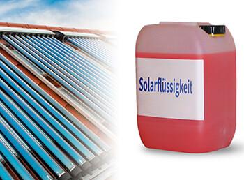 Arbeiten an der Solaranlage: Befüllen, Spülen, Flüssigkeit tauschen