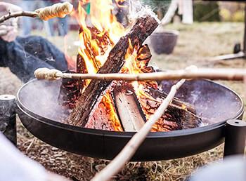 Welcher Untergrund ist für eine Feuerschale geeignet?