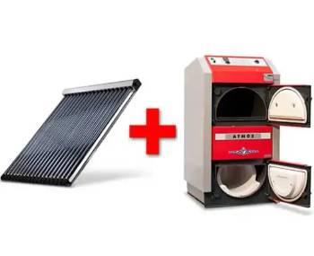 Holzvergaser mit Solar: die effiziente Kombination