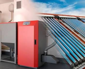 Pelletheizung mit Solarthermie - die nachhaltige Kombination