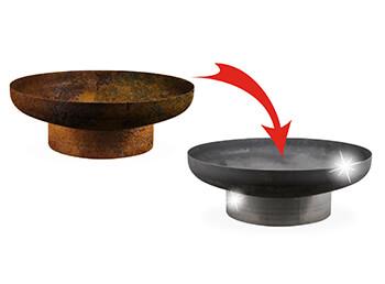 Feuerschale vor Rost schützen mit der richtigen Reinigung und Pflege
