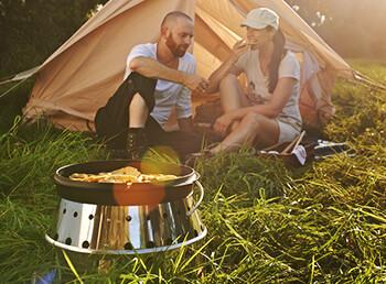 Welcher Grill ist zum Campen am besten geeignet?
