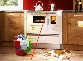 So reinigen Sie Ihren Küchenofen!