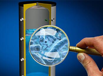 Reinigung und Wartung bei Warmwasserspeichern