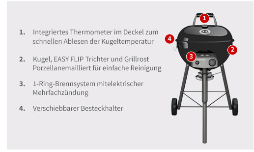 Outdoorchef Chelsea 480 G Gasgrill