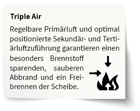 Bild Triple Air Technologie