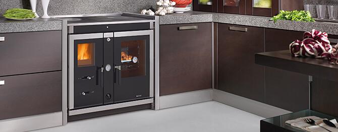 wasserführende Küchenöfen finden | bei ofenseite.com
