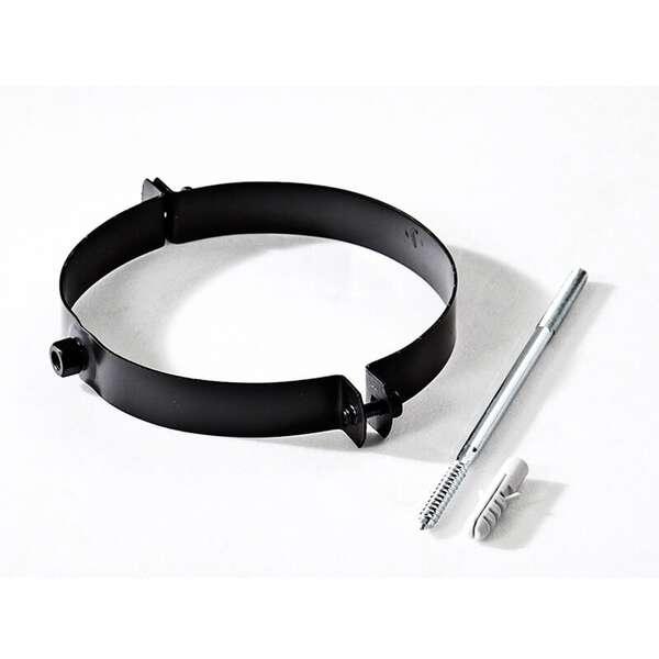 150 mm collier de fixation pour tuyau noir chez o. Black Bedroom Furniture Sets. Home Design Ideas