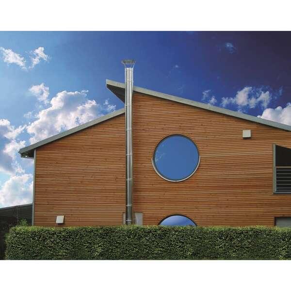 10 m schornstein paket doppelwandig kaufen. Black Bedroom Furniture Sets. Home Design Ideas