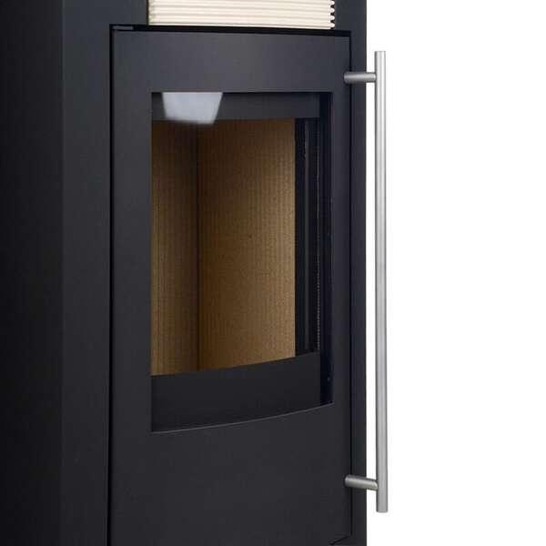 kaminofen turku 5 schwarz sand finden. Black Bedroom Furniture Sets. Home Design Ideas