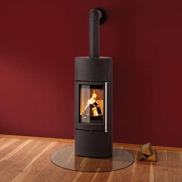 leda delta w kompakter wasserf hrender kaminofen. Black Bedroom Furniture Sets. Home Design Ideas