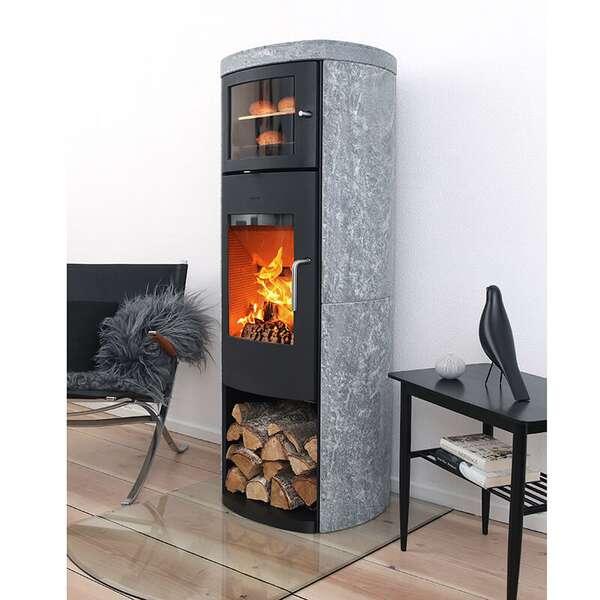 gussofen morsoe 8259 mit speckstein und warmhaltefach. Black Bedroom Furniture Sets. Home Design Ideas