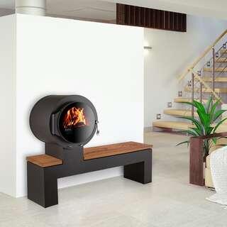 kaminofen ehv bank mit eleganter sitzbank aus holz finden bei. Black Bedroom Furniture Sets. Home Design Ideas