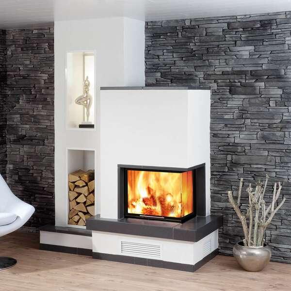 eckkamineinsatz wasserf spartherm varia 2r 55h h2o 4s. Black Bedroom Furniture Sets. Home Design Ideas