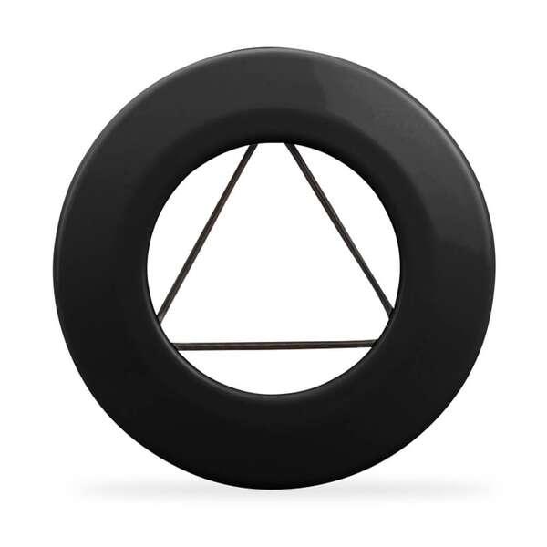 wandrosette mit spannfeder f r ofenrohr 100 mm 120 mm. Black Bedroom Furniture Sets. Home Design Ideas