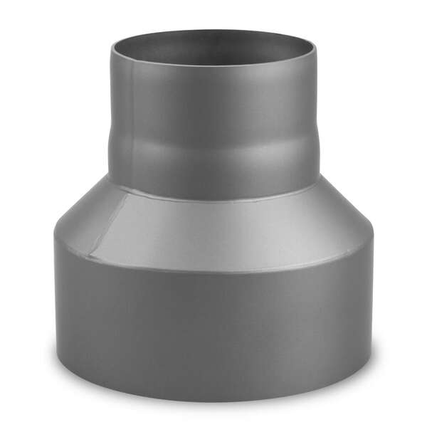 Ofenrohr Reduzierung 200 120 mm Rauchrohr Reduzierstück Kaminrohr gussgrau 2mm