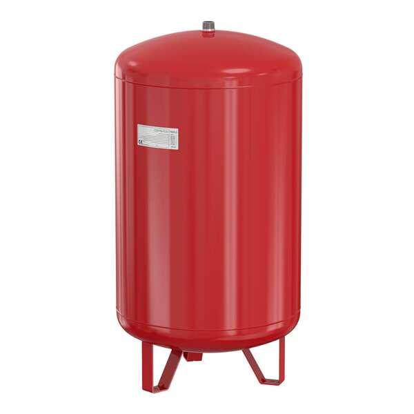 Ausdehnungsgefäß 50 liter für Heizung Farbe rot Vordruck 1,5 bar Neu