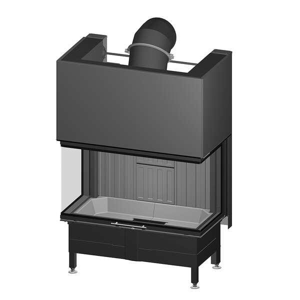 kamineinsatz spartherm arte 3rl 100h 4s. Black Bedroom Furniture Sets. Home Design Ideas