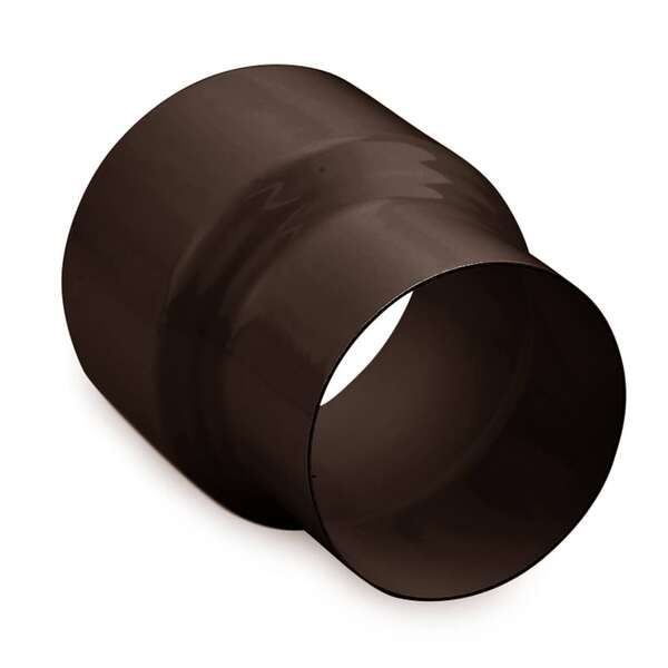 ofenrohr reduzierung 120 auf 100 schwarz braun wei. Black Bedroom Furniture Sets. Home Design Ideas