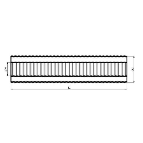 150 mm aluflexrohr isoliert 10 m. Black Bedroom Furniture Sets. Home Design Ideas